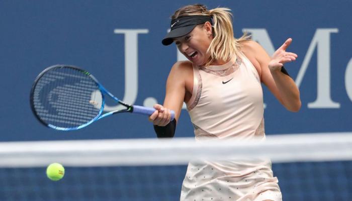 US Open: मारिया शारापोवा तीसरे दौर में, एलेक्सजेंडर ज्वेरेव और निक किर्गियोस बाहर
