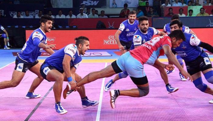 प्रो कबड्डी लीग: हरियाणा स्टीलर्स और जयपुर पिंक पैंथर्स का मुकाबला टाई