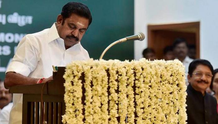 तमिलनाडु: CM पलानीस्वामी को मद्रास हाई कोर्ट से राहत, फ्लोर टेस्ट पर रोक