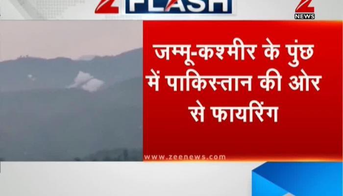 Pakistan violates ceasefire in Poonch, J&K