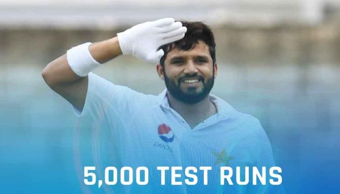 PAKvsSL, पहला टेस्ट: तीसरे दिन अजहर का पचासा, पाकिस्तान का स्कोर 4 विकेट पर 266 रन