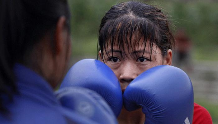 मैरी काम, सरिता एशियाई बॉक्सिंग चैम्पियनशिप की टीम में