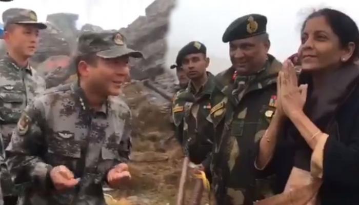 VIDEO: निर्मला सीतारमण ने चीनी सैनिकों को बताया नमस्ते का मतलब, फिर मिला ये जवाब