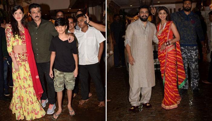 Anil Kapoor hots glittery Karwa Chauth bash