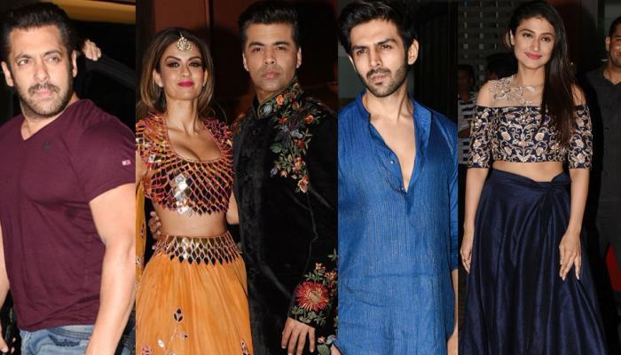 PICS: अर्पिता खान ने दी दिवाली पार्टी, ट्रेडिशनल अवतार में पहुंचे कई सितारे