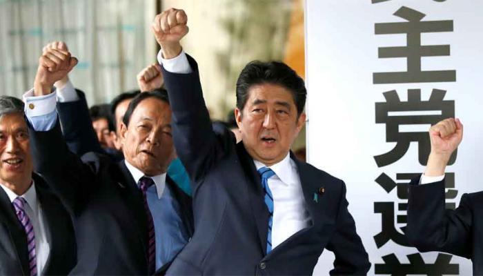 जापान चुनाव में पीएम शिंजो आबे को मिलेगी जीत: सर्वे