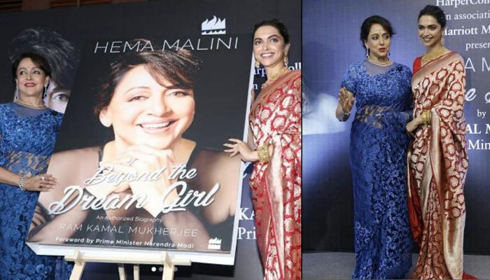 दीपिका पादुकोण ने लॉन्च की 'ड्रीम गर्ल' की बायोग्राफी, देखें PICS