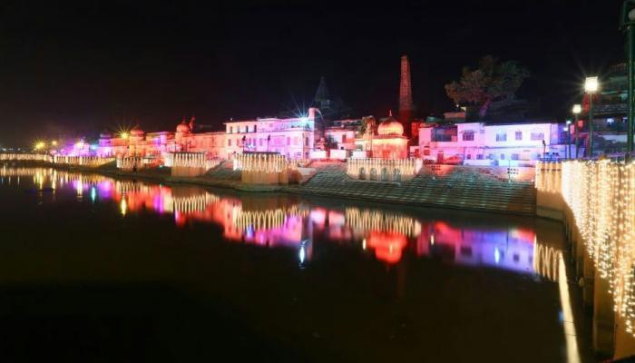 अयोध्या में भव्य दीपोत्सव आज, हेलिकॉप्टर से आएंगे सीता-राम और भरत के रोल में होंगे CM योगी
