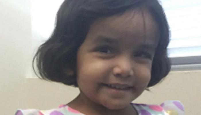 अमेरिका में दो हफ्ते से लापता भारतीय बच्ची का शव मिलने की आशंका