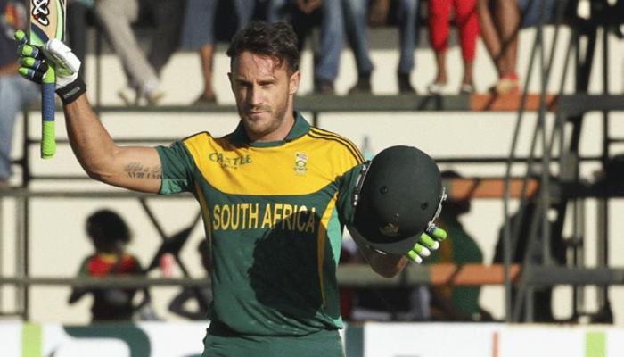 दक्षिण अफ्रीका को फिर लगा झटका, बाहर हुए चोटिल डु प्लेसिस