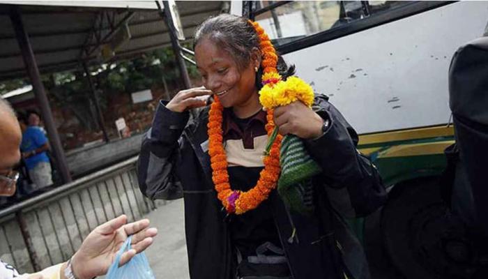 जज्बे को सलाम : मिलिए, एक पैर के साथ एवरेस्ट फतह करने वाली अरुणिमा सिन्हा से