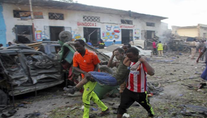 सोमालिया की राजधानी मोगादिशु में विस्फोट, 13 लोगों की मौत, 16 घायल