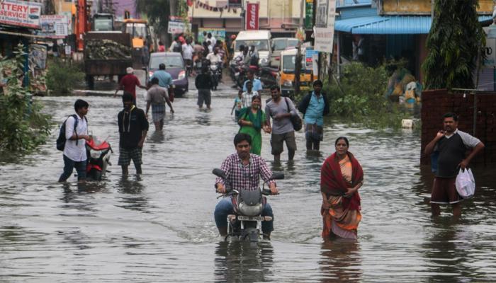 तस्वीरों में देखें तमिलनाडु की बारिश; अब तक 8 की मौत
