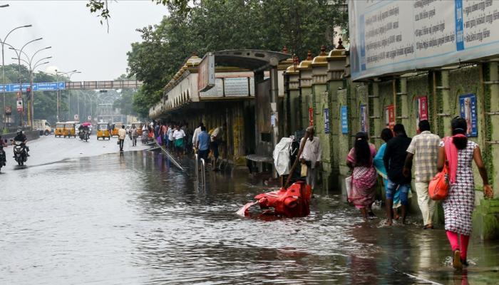 तमिलनाडु में भारी बारिश: सीएम पलानीस्वामी ने कहा- 'युद्ध स्तर' पर काम कर रही है सरकार