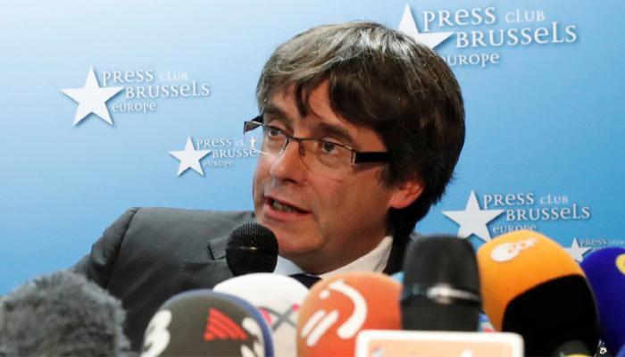 कैटालोनिया के अपदस्थ राष्ट्रपति के खिलाफ गिरफ्तारी वारंट जारी