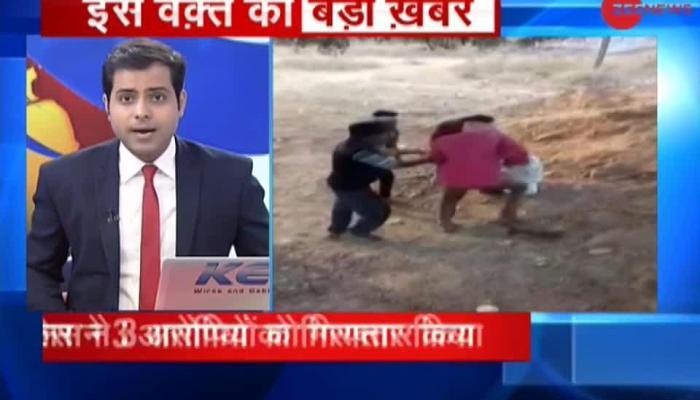 Goons thrash a man in Madhya Pradesh's Bhind