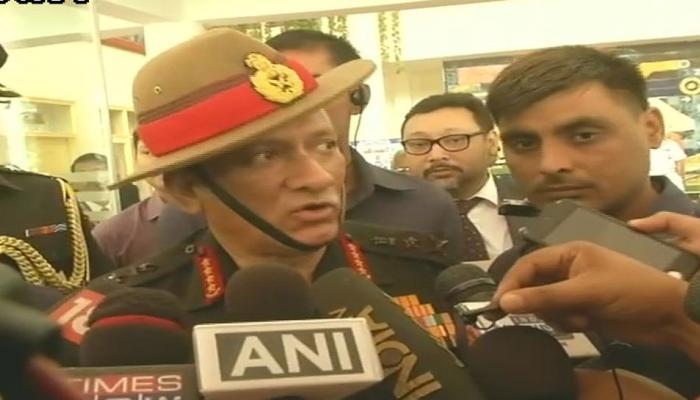 सेना प्रमुख बोले-आतंकी चाहे मसूद अजहर का भतीजा हो या कोई और, जारी रहेगा खात्मा