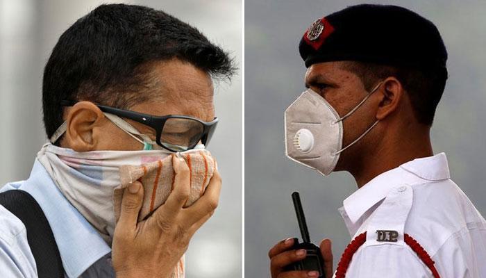 Delhi chokes as air pollution increases
