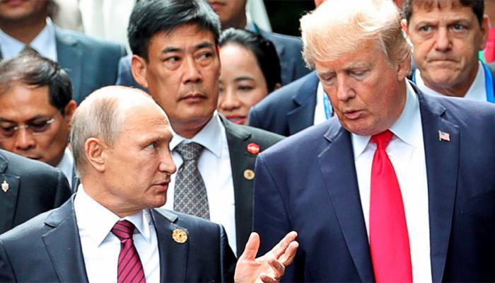 व्लादिमीर पुतिन बोले, अमेरिकी चुनाव में रूस के दखल के दावे सिर्फ 'कल्पनाएं'