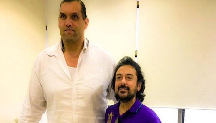 ग्रेट खली से मिले अदनान सामी, तो ऐसे शेयर किए अपने अनुभव