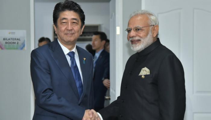 ASEAN Summit: पीएम मोदी और शिंजो आबे ने रणनीतिक साझेदारी को मजबूत करने पर दिया जोर