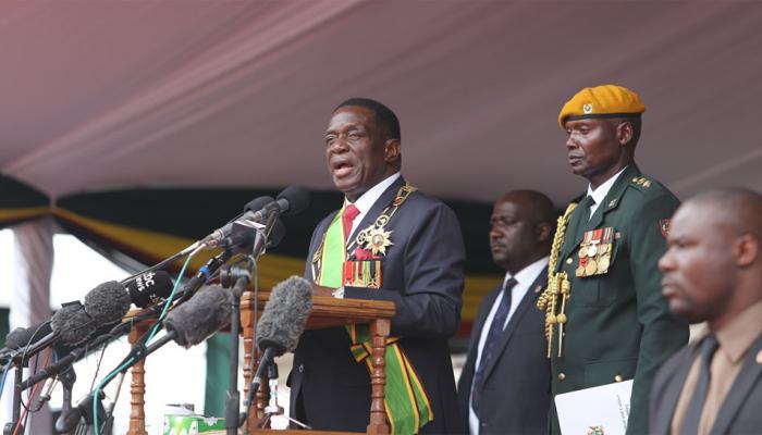 जिम्बाव्बे का नया अध्याय शुरू: नए राष्ट्रपति एमर्सन ने कहा, साथ मिलकर काम करना होगा