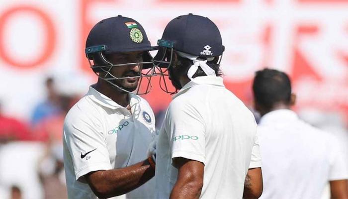 INDvsSL: मुरली-पुजारा की शतकीय पारी, भारत को 107 रनों की बढ़त