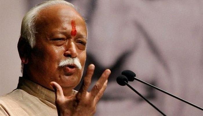 गुजरात में बीजेपी के लिए वोट बटोरने के मकसद से राम मंदिर का मुद्दा उठा रहे हैं भागवत : कांग्रेस