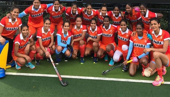 महिला हॉकी: विश्व कप-2018 के लिए पूल-बी में भारतीय टीम