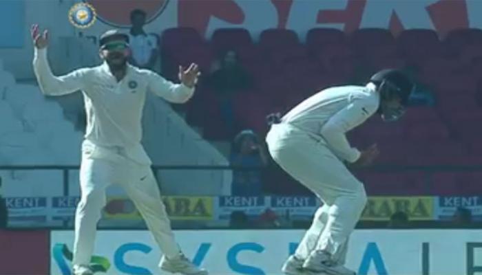 VIDEO: मुरली ने शॉर्ट लेग पर लपका हैरतअंगेज कैच, खुशी से उछल पड़े विराट