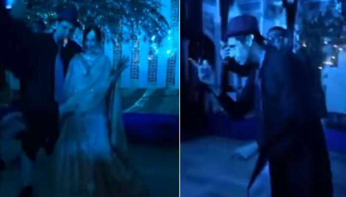 VIDEO: जहीर नहीं, 'नेहराजी' ने लगाए सागरिका के साथ ठुमके