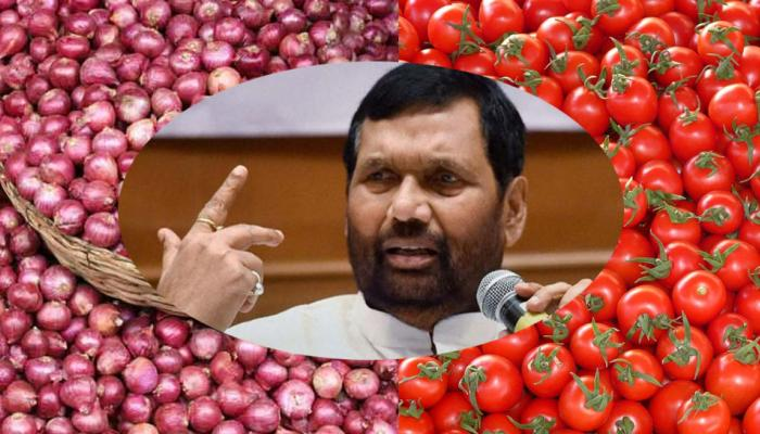 Ramvilas Paswans absurd statement on Onion and tomato prices hike
