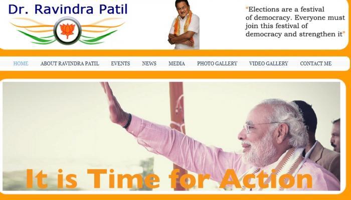 Gujarat Polls 2017: Limbayat congress candidate Dr. Ravindra Patil seeking vote for BJP!