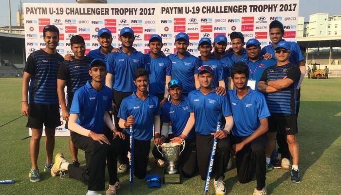 अंडर-19 चैलेंजर ट्रॉफी: भारत ने श्रीलंका को 95 रन से हराया