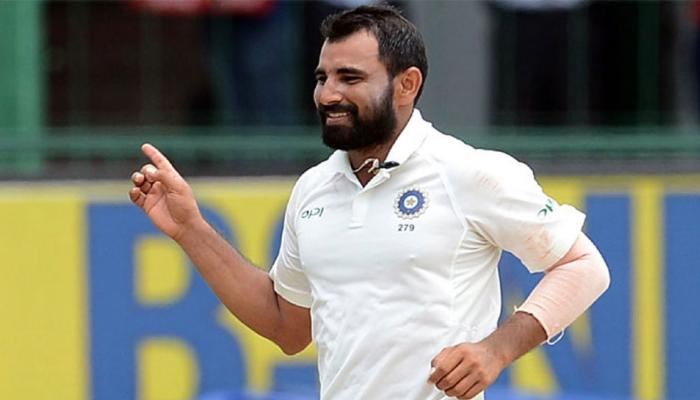 दिल्ली टेस्ट प्रदूषण विवाद : शमी ने कहा बढ़ा चढ़ाकर पेश  किया जा रहा है