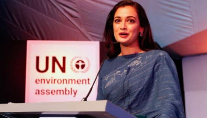 Dia Mirza reveals - she doesn't use sanitary napkins during periods