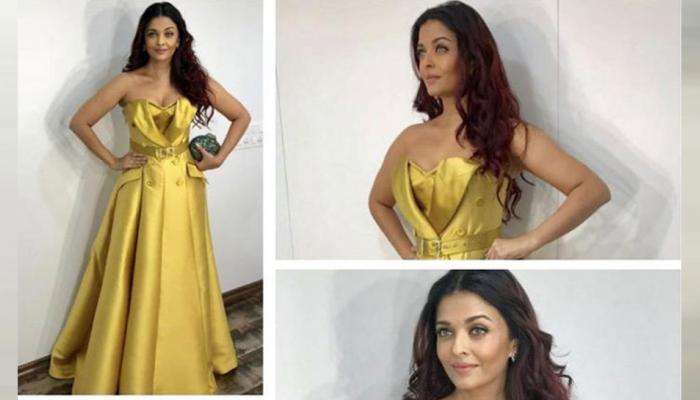 aishwarya rai bachchan's gown, ambani's party
