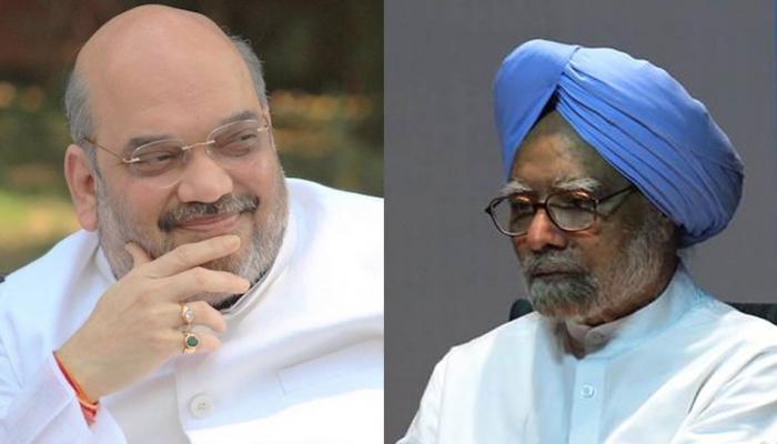 मनमोहन सिंह ने फिर कहा-माफी मांगें PM मोदी, पलटवार में अमित शाह ने दागे ये 5 सवाल