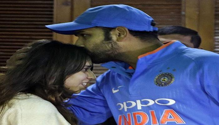 Rohit Sharma Ritika sajdeh love story capture in mohali on their second wedding anniversary