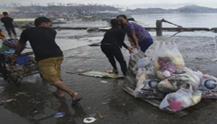 फिलीपींस: तूफान के बढ़ते प्रभाव से सुरक्षित स्थान पर जाने लगे लोग