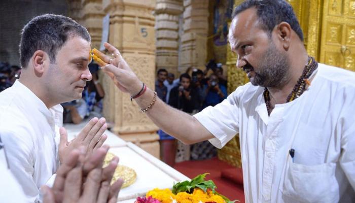 'सॉफ्ट हिंदुत्व कार्ड': राहुल गांधी ने 27 मंदिरों में टेका माथा, 47 सीटों का मिला 'आशीर्वाद'