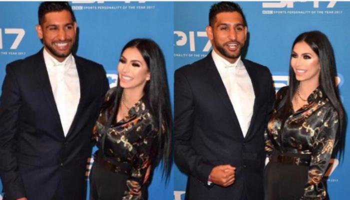 Boxer Amir Khan's married life seems to have the return of good times after