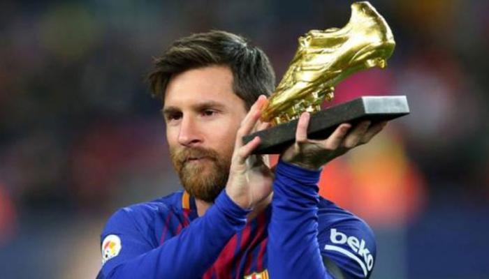 स्पेनिश लीग के सर्वोच्च स्कोरर, सर्वश्रेष्ठ खिलाड़ी बने लियोनेल मेसी