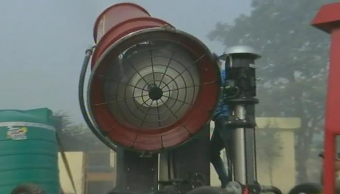 हवा, प्रदूषण, स्मॉग, दिल्ली सरकार, एंटी स्मॉग गन, Air, Pollution, Smug, Delhi Government, Anti-Smog Gun