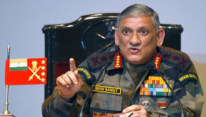 आर्मी चीफ बिपिन रावत ने कहा, 'PAK सेना की कार्रवाई से नहीं लगता कि वह भारत के साथ शांति चाहता है'