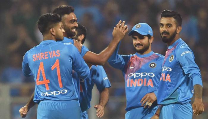 INDvsSL : श्रीलंका को 5 विकेट से हराकर टीम इंडिया  ने सीरीज 3-0 से जीती