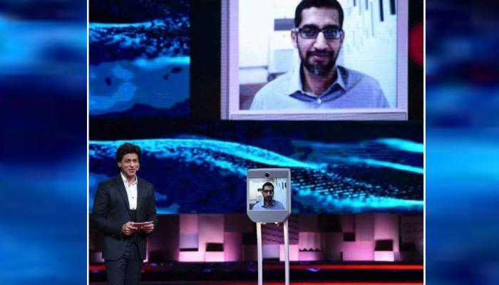 शाहरुख खान के साथ बात करेंगे Google CEO सुंदर पिचाई, 'Ted Talks' का बनेंगे हिस्सा
