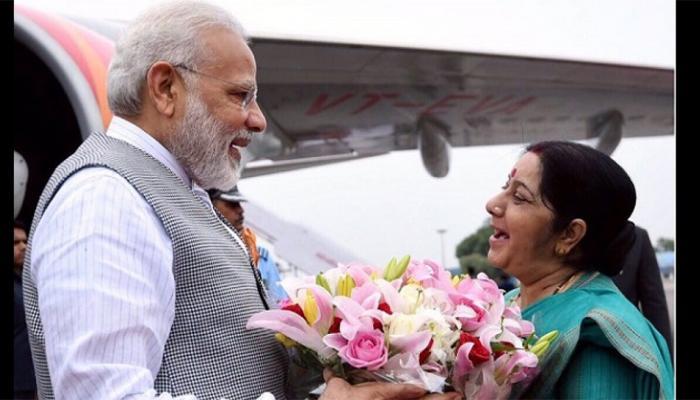VIDEO: आसियान प्रवासी दिवस में बोलीं सुषमा स्वराज, पीएम मोदी की वजह से दुनिया में बढ़ा भारत का रुतबा