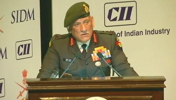 सेना प्रमुख जनरल बिपिन रावत बोले-अगला युद्ध स्वदेशी हथियारों से लड़ने का वक्त आ गया है