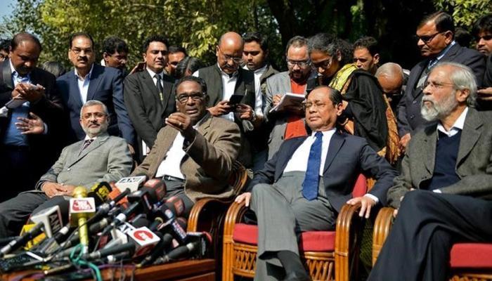 4 जजों की प्रेस कॉन्फ्रेंस पर सरकार ने कहा - यह न्यायपालिका का आंतरिक मामला है: सूत्र
